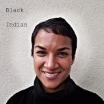 """Black, Indian"" Digital Photograph, Rema Tavares"