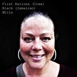 """First Nations (Cree), Black (Jamaican), White"" Digital Photograph, Rema Tavares"