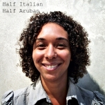 """Half Italian, Half Aruban"" Digital Photograph, Rema Tavares"