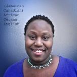 """""""(Jamaican-Canadian) African, German, English"""" Digital Photograph, Rema Tavares"""