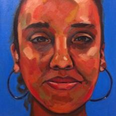 """What Are You Malinda?"" Oil on Canvas, 16"" x 24, Ilene Sova"
