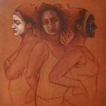 """Something in Between"" Oil on Canvas, 24""x36"", Jordan Clarke"