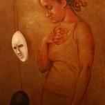 """""""Oneness"""" Oil on Canvas, 24""""x36"""", Jordan Clarke"""