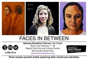FACES IN BETWEEN E-VITE