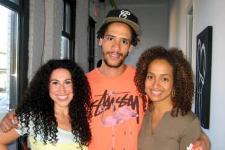 Rema, Jimmy (the curator) & Jordan